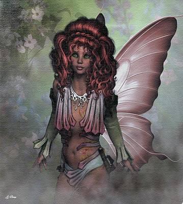 Flower Fairy 009 Art Print