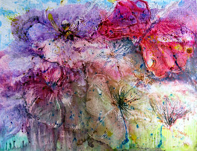 Painting - Flower Fantasia by Sarah Hornsby