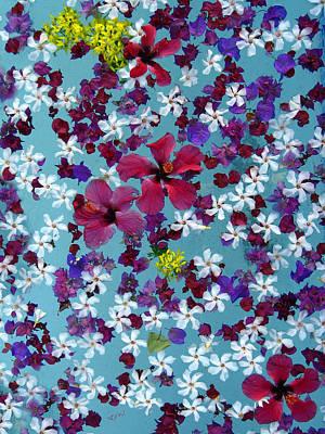 Fantasy Photograph - Flower Fantasy Guatemala by Kurt Van Wagner