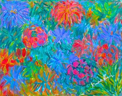 Painting - Flower Flow by Kendall Kessler