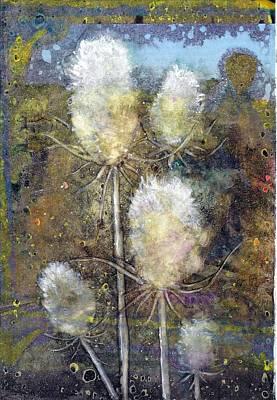 Flower Friends Art Print