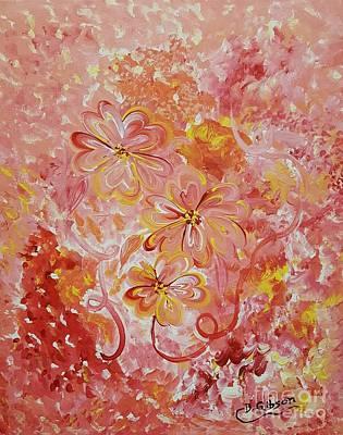 Painting - Flower Fun by Dianne Scheerer Gibson