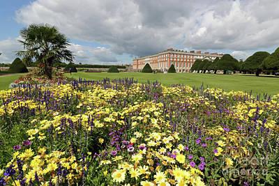 Photograph - Flower Garden At Hampton Court Palace by Julia Gavin
