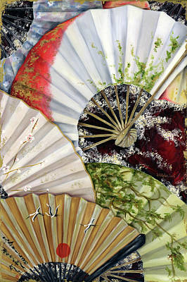 Flower Garden Original by Hiroko Sakai