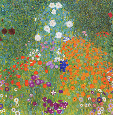 Painting - Flower Garden by Mountain Dreams