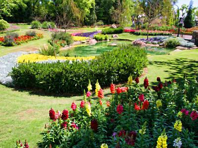 Flower Garden Original by Paul Bartoszek
