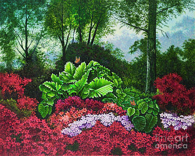 Painting - Flower Garden X by Michael Frank