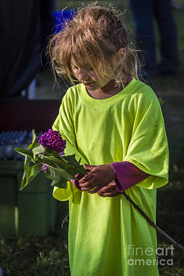 Photograph - Flower Girl by Joann Long