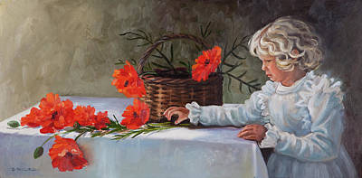 Painting - Flower Girl by Patricia Baehr-Ross