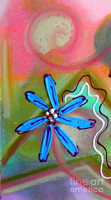 Painting - Flower Happy by L Cecka