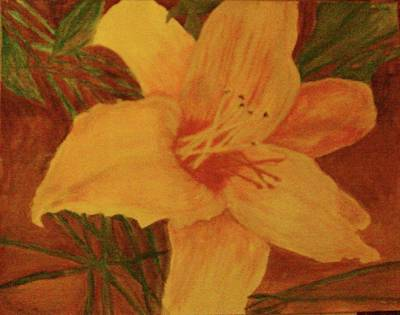 Painting - Flower by Helen Vanterpool