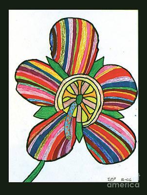Flower Art Print by Jeffrey Peterson