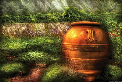 Landscaper Photograph - Flower - Landscape - The Gardens Center by Mike Savad