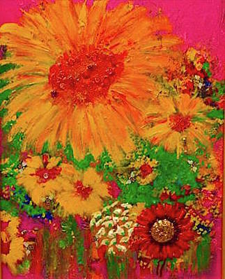 Painting - Flower by Lilliana Didovic