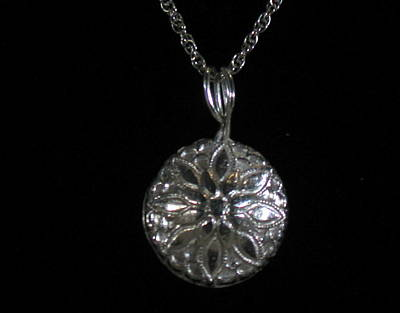 Sterling Silver Chains Jewelry - Flower by Louise Musto-Choate