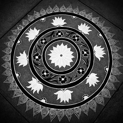 Photograph - Flower Mandala by VB Medley