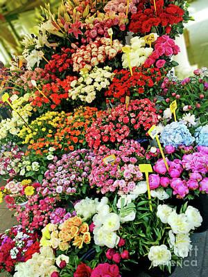 Photograph - Flower Market #2 Zagreb by Jasna Dragun