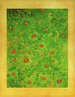 Painting - Flower Meadow by Johanna Hurmerinta
