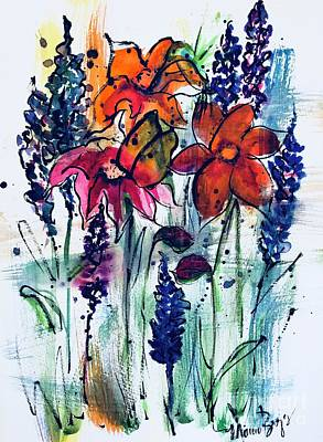 Painting - Flower Medley by Marcia Breznay