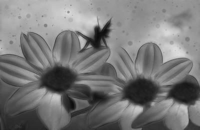 Faery Digital Art - Flower Nymph by Holly Ethan