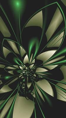 Flower Of Art Art Print