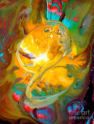Contemplative Painting - Flower Of Life II by Blanca Medina