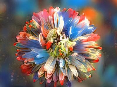 Digital Art - Flower Of Paradise 1 by Yury Malkov
