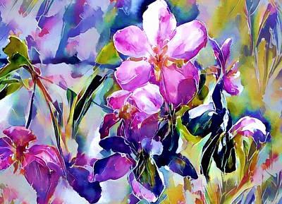 Digital Art - Flower Of Paradise 2 by Yury Malkov