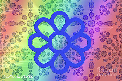 Digital Art - Flower Of Renewal by Donna L Munro