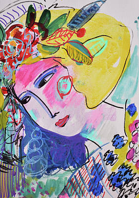 Painting - Flower Party by Amara Dacer