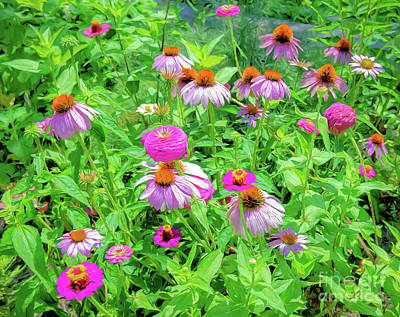 Photograph - Flower Patch by Kathleen K Parker