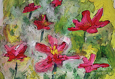 Painting - Flower Play by Terri Thompson