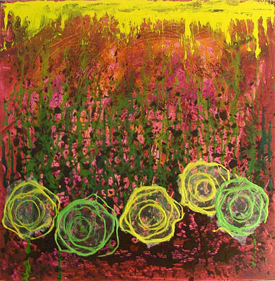 Painting - Flower Pops by Sonal Raje