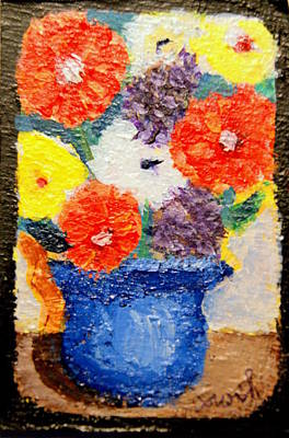 Painting - Flower Pot by Gregory Dorosh
