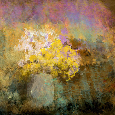 Digital Art - Flower Pot by Jessica Wright
