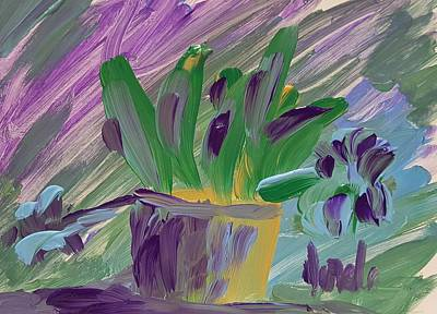 Painting - Flower Pot by Steve Jorde
