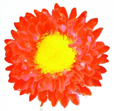 Flower Power 313 Art Print