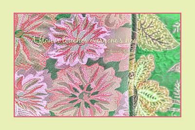 Georgia Okeefe Digital Art - Flower Power by Bonnie Bruno