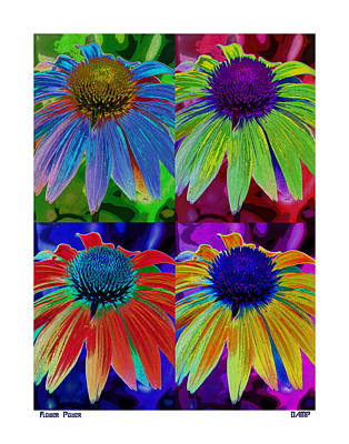 Photograph - Flower Power by David Pantuso