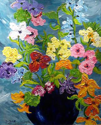 Painting - Flower Power by Diane Arlitt