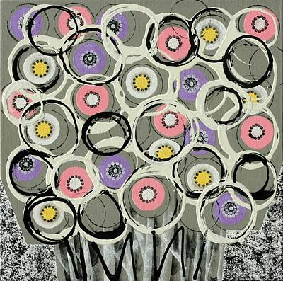 Painting - Flower Power by Graciela Bello