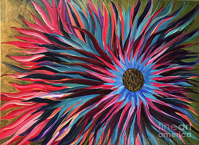 Painting - Flower Power by Heather McKenzie