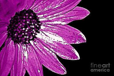 Flower Power  Art Print by Juls Adams