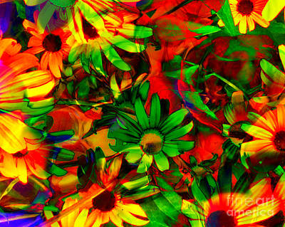Photograph - Flower Power by Kathy M Krause