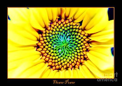 Flower Power Art Print by Nick Gustafson