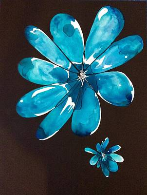 Painting - Flower Power by Pat Purdy