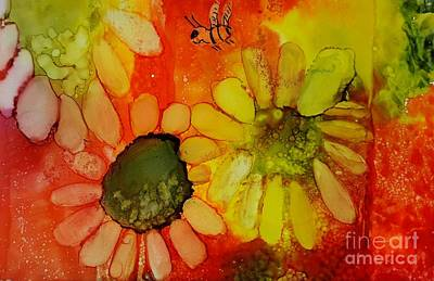 Painting - Flower Power by Terri Mills