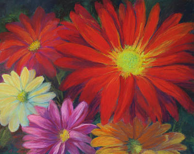 Painting - Flower Power by Vikki Bouffard