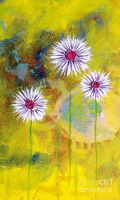 Painting - Flower Seeds by Wonju Hulse
