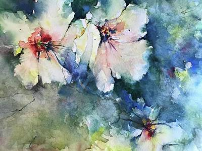 Painting - Flower Series   Uploaded For Kaye by Robin Miller-Bookhout